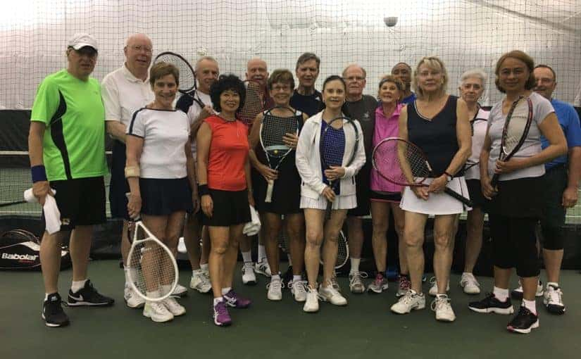 Member Happenings: Amazons vs Big 8 Spring Tennis Match