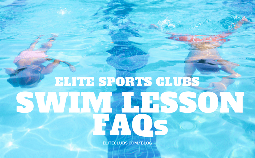 Elite Swim Lesson FAQs
