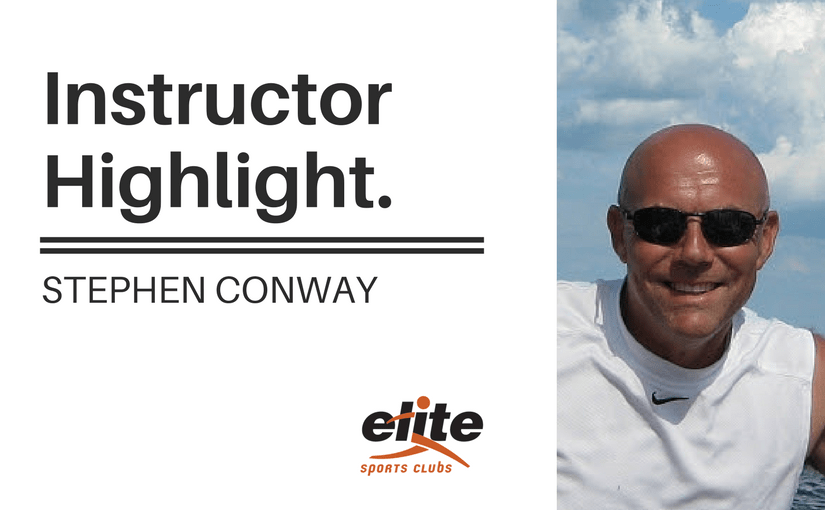 Instructor Highlight: Stephen Conway