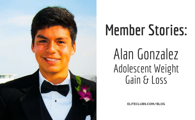Member Stories Alan Gonzalez - Adolescent Weight Gain and Loss