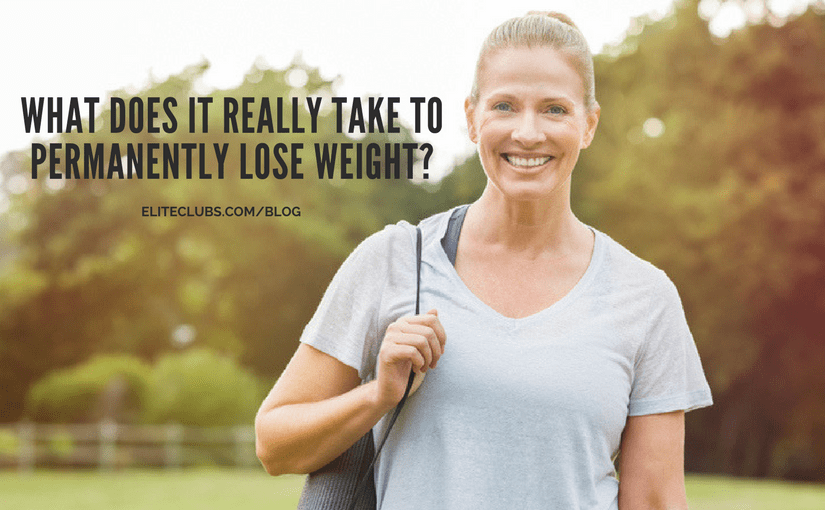 What Does it Really Take to Permanently Lose Weight?