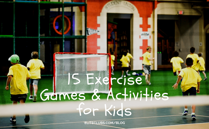 15 Exercise Games and Activities for Kids