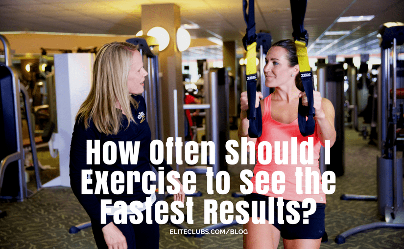 How Often Should I Exercise to See the Fastest Results