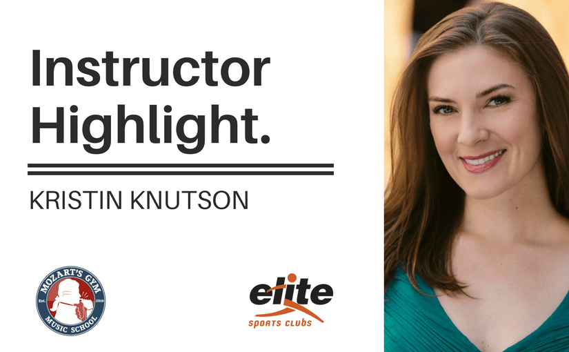 Instructor Highlight Kristin Knutson