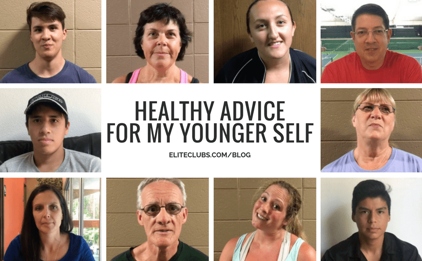 Healthy Advice for My Younger Self