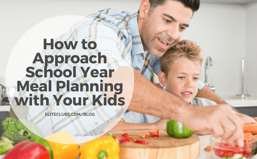 How to Approach School Year Meal Planning with Your Kids