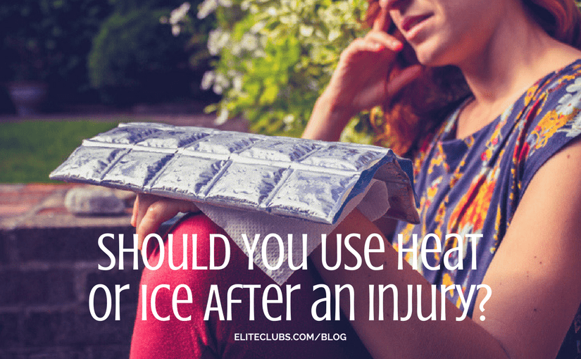 Should You Use Heat or Ice After an Injury?