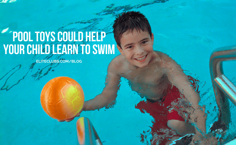 Pool Toys Could Help Your Child Learn to Swim