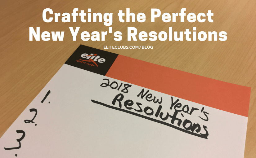 Crafting the Perfect New Year's Resolutions