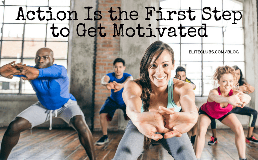 Action Is the First Step to Get Motivated