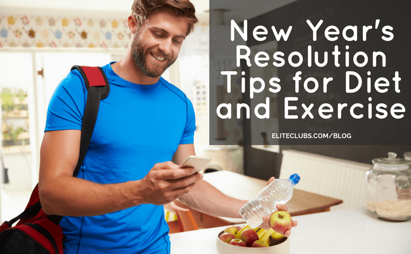 New Years Resolution Tips for Diet and Exercise