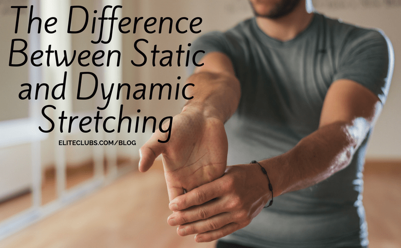The Difference Between Static and Dynamic Stretching