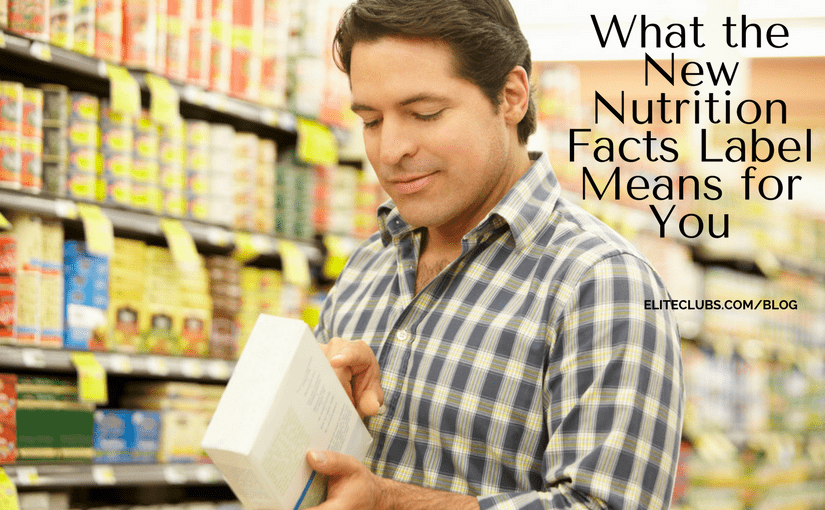 What the New Nutrition Facts Label Means for You