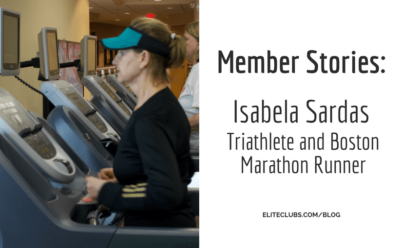 Member Stories: Isabela Sardas –Triathlete and Boston Marathon Runner