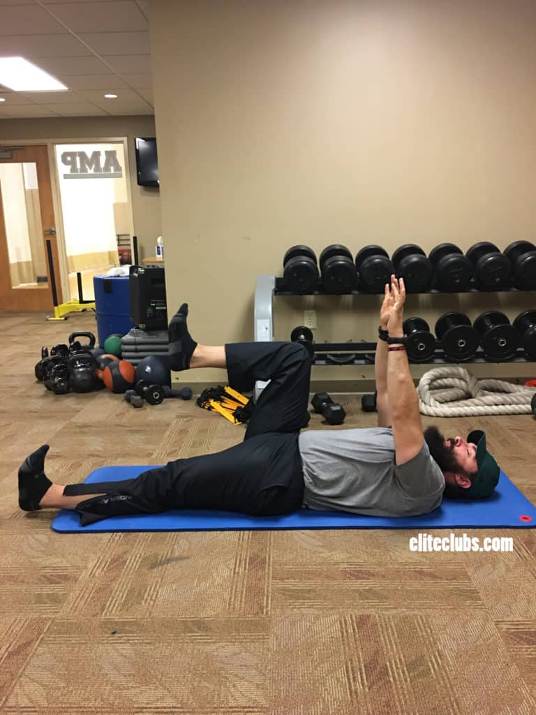 Runner Core Exercises - Dead Bug 1