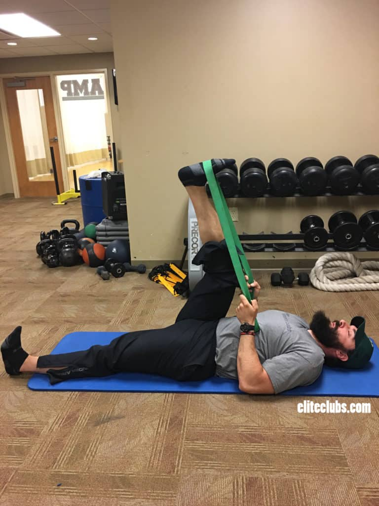 Runner Core Exercises - Leg Lowering 1