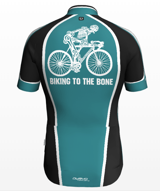 Elite Sports Clubs bike jersey back