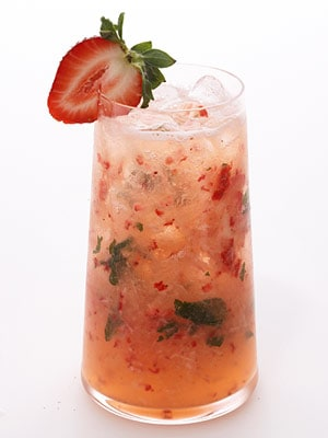 strawberry citrus vodka cocktail
