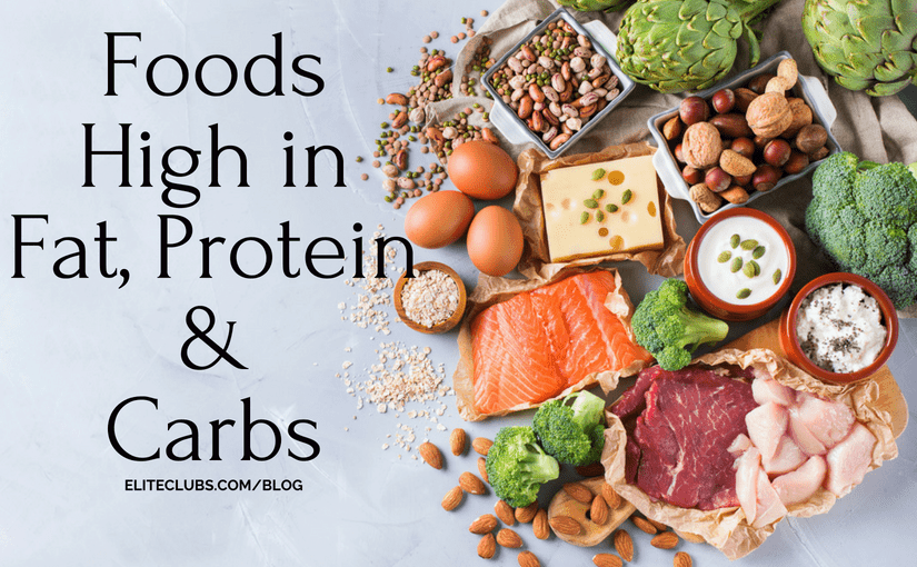 Foods High in Fat, Protein, and Carbs