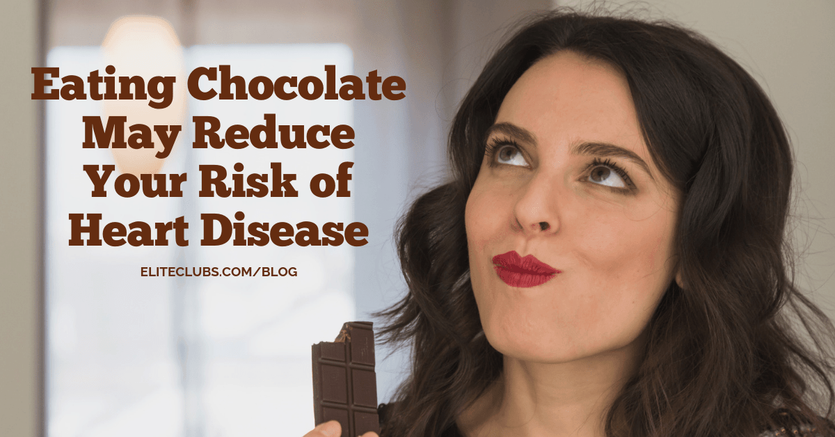 Eating Chocolate May Reduce Your Risk of Heart Disease