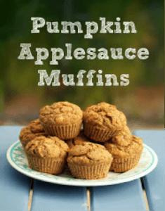 Pumpkin Applesauce Muffins Recipe
