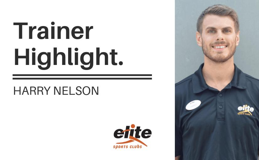 Trainer Highlight - Harry Nelson