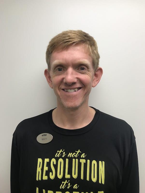 Matt Bartz Personal Training Director at Elite Sports Clubs