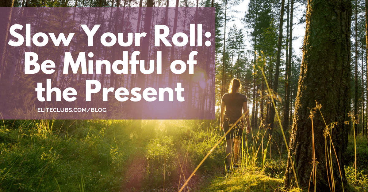 Slow Your Roll - Be Mindful of the Present