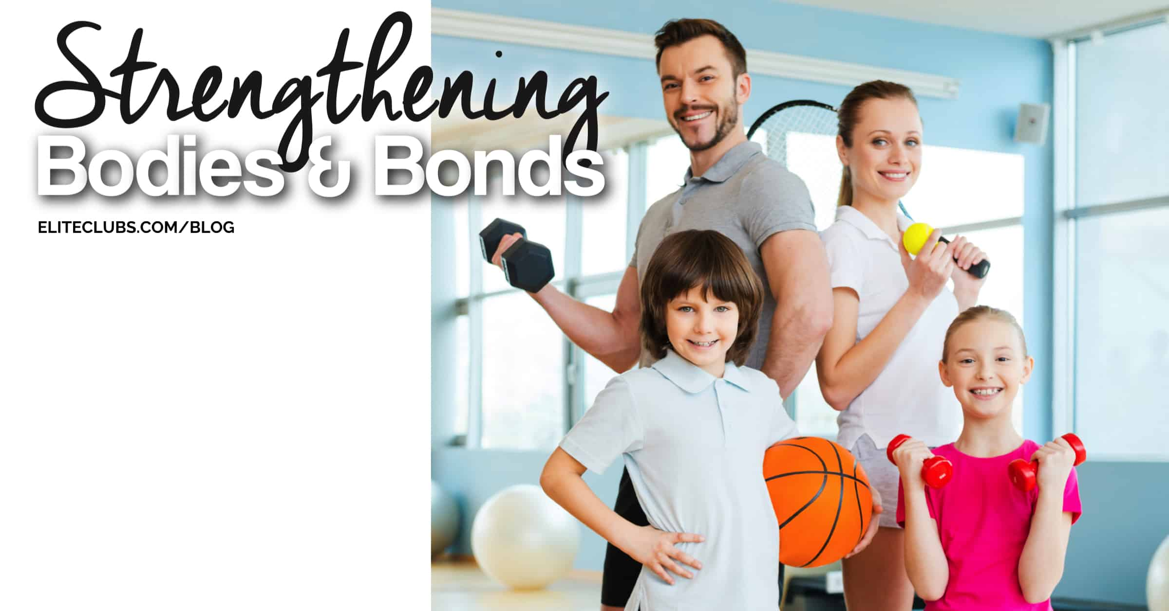 Strengthening Bodies & Bonds - Group Exercise for Families