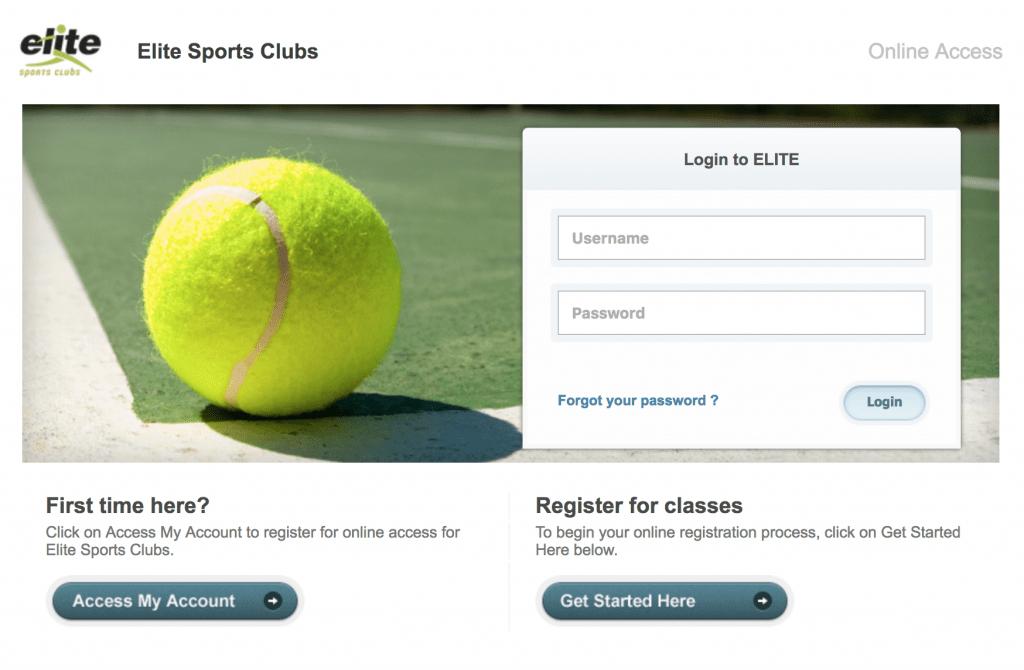 Member Portal Login Page