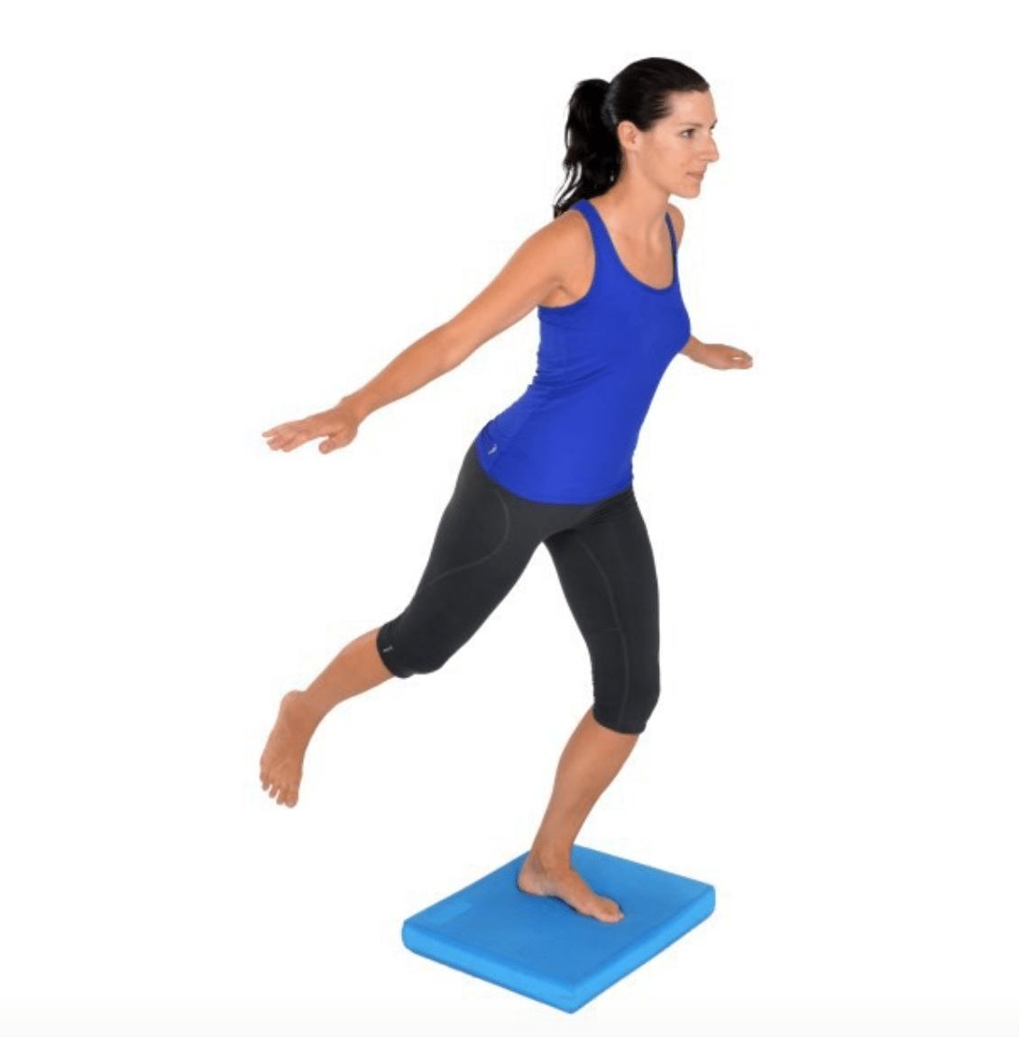One Leg Foam Balance