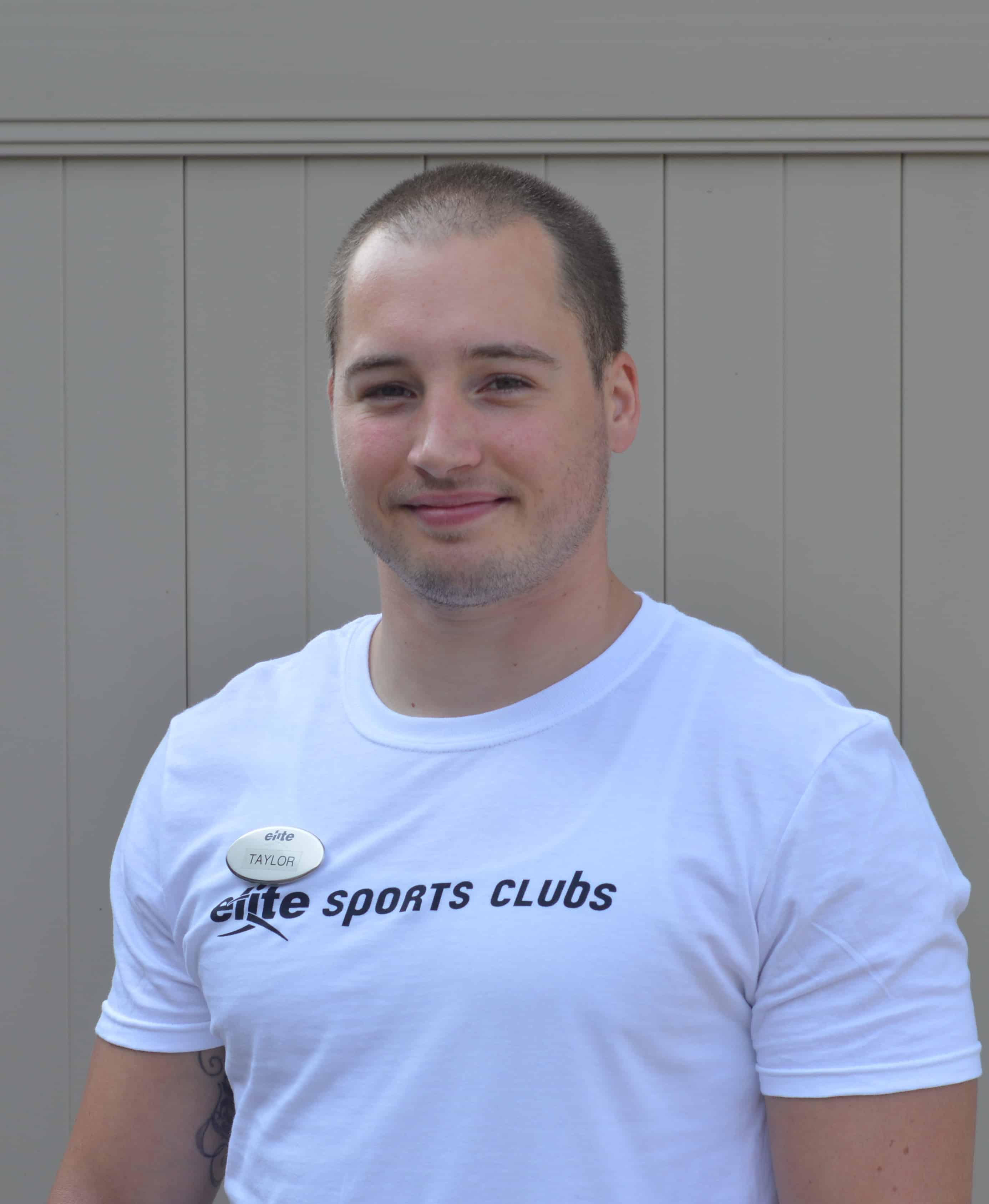 Taylor Eckholm Certified Personal Trainer at Elite Sports Clubs