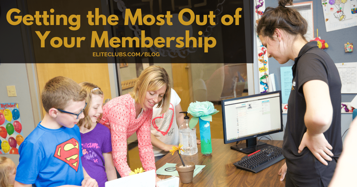 Getting the Most Out of Your Membership