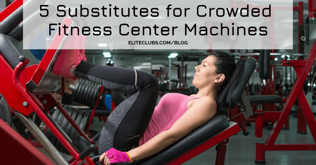 5 Substitutes for Crowded Fitness Center Machines