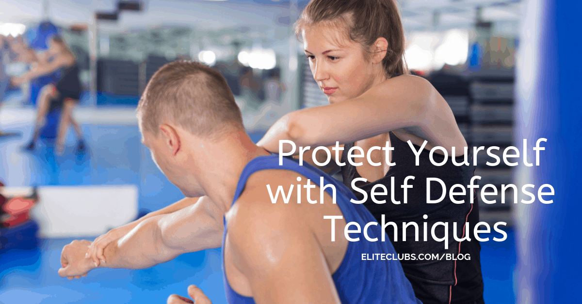 Protect Yourself with Self Defense Techniques
