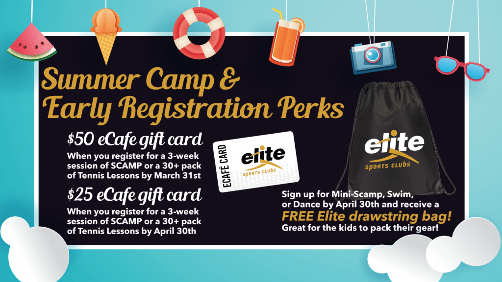 Summer Camp and Lesson Early Registration Promotion