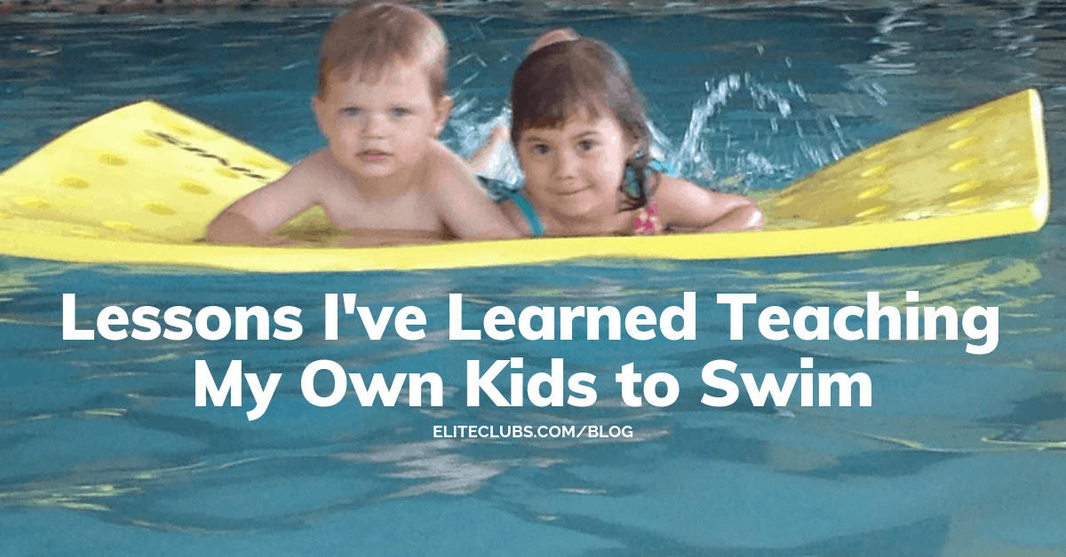 Lessons I've Learned Teaching My Own Kids to Swim