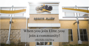 When you join Elite, you join a community