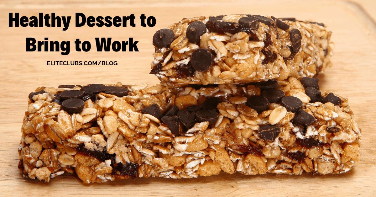 Healthy Dessert to Bring to Work