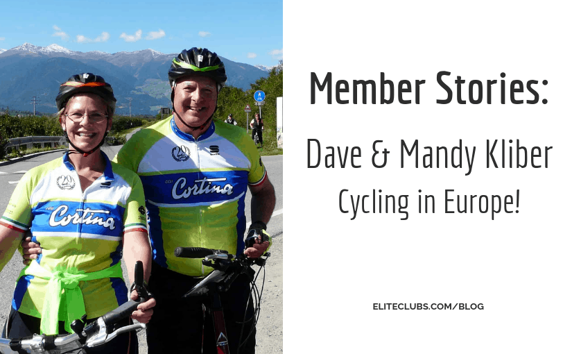 Member Stories - Dave and Mandy Kliber – Cycling in Europe