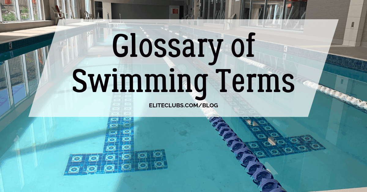 Glossary of Swimming Terms