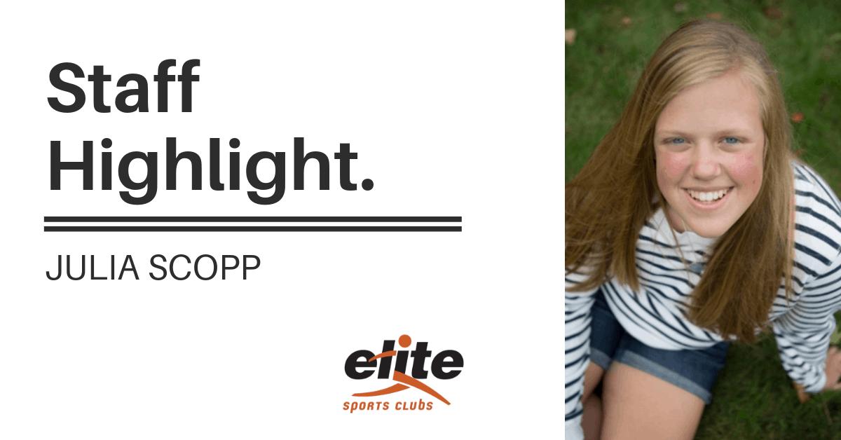 Staff Highlight - Julia Scopp
