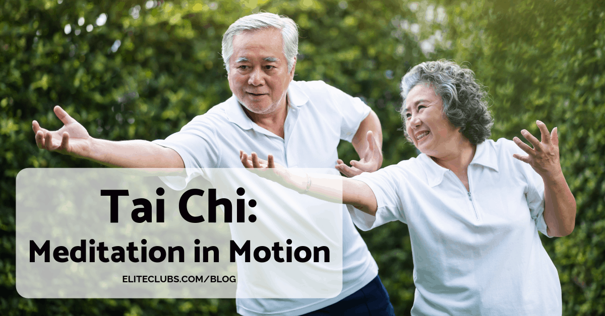 Tai Chi - Meditation in Motion