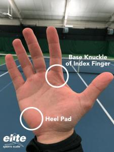 Tennis Hand Diagram