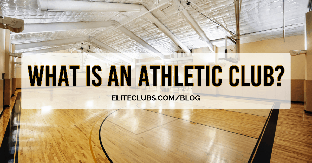 What is an Athletic Club?