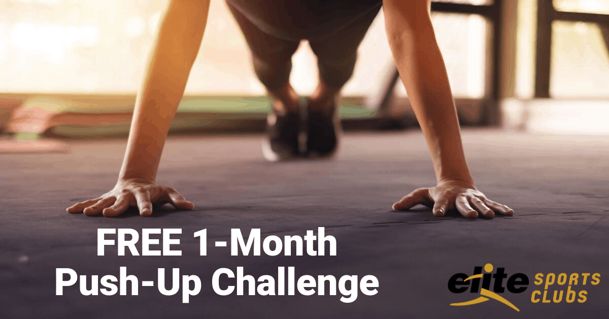 1-Month Push-Up Challenge