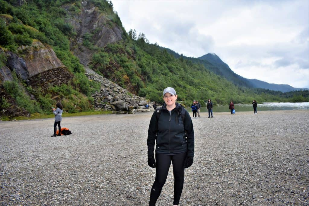 Erika Wentz-Russell hiking