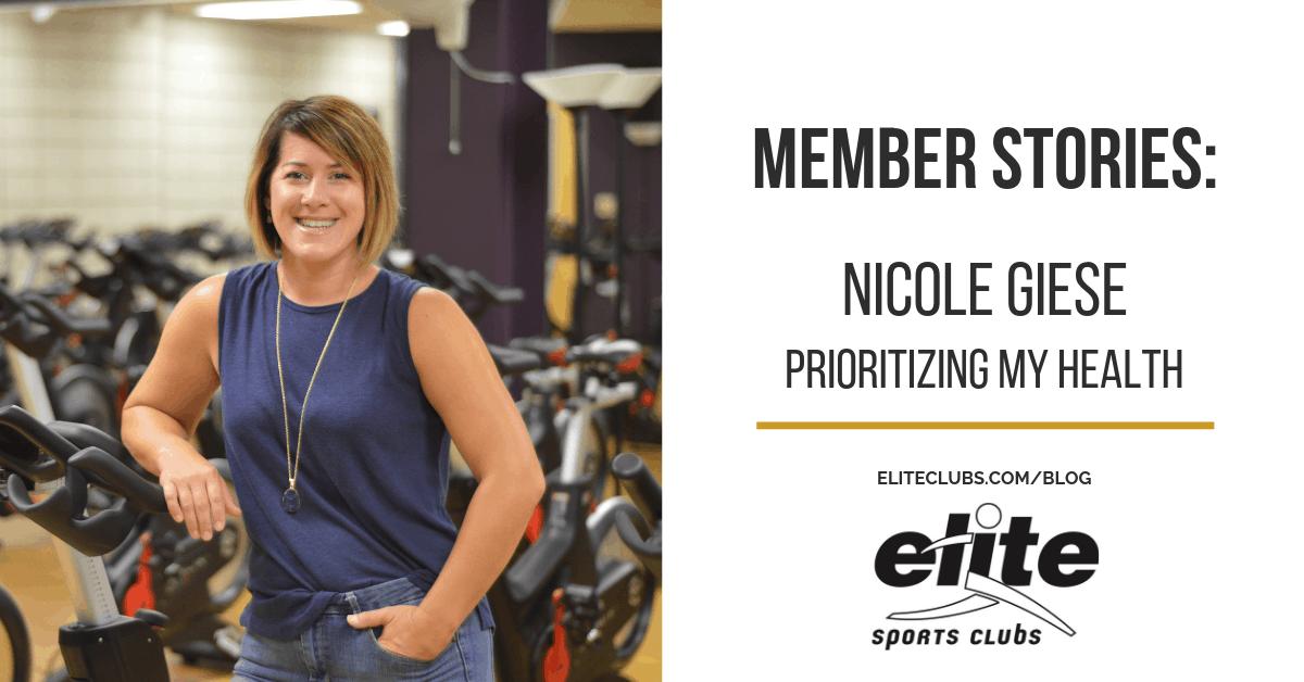 Member Stories - Nicole Giese - Prioritizing My Health