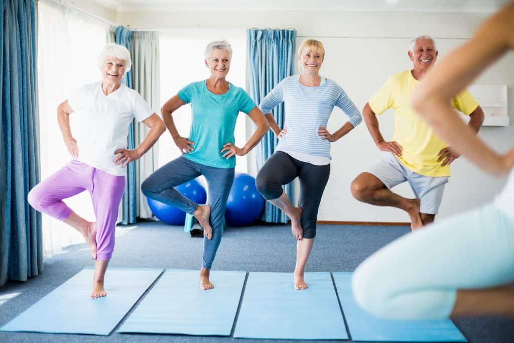 Fitness Over 50 - Yoga