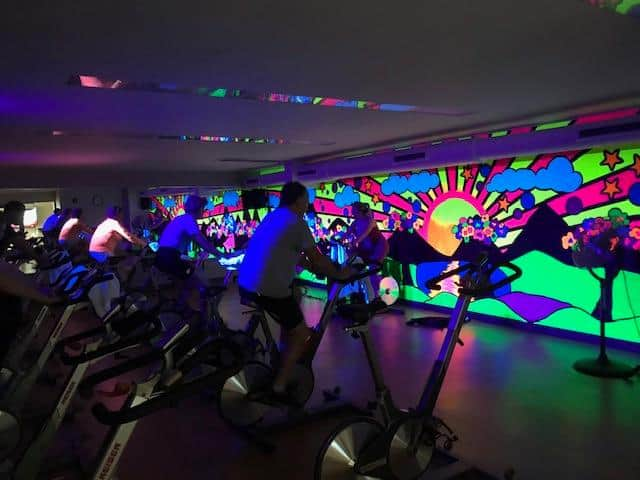 Spin Class at River Glen